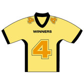 HOCKEY JERSEY NUMBER FOUR VECTOR.eps