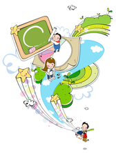 Campus Life playful clipart