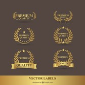 Premium laurel golden
