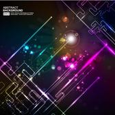 GLOWING WIRES BACKGROUND VECTOR.eps