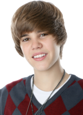 Justin Bieber - Red/Grey Argyle PSD