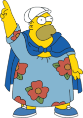 Fat Homer Simpson PSD