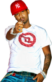 Juelz Santana Holding Lighter HQ PSD