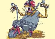 Monster On Bike
