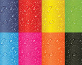 Stock Ilustrations Colorful backgrounds drops
