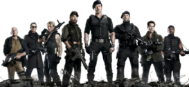 The Expendables 2 PSD