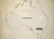 Free Vector Map of Australia