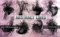 8 abstract Vector-Linien
