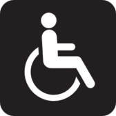 Wheelchair Accessible Black