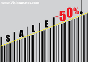 Barcode Vector Sale