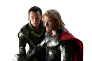Thor and Loki PSD