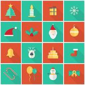 CHRISTMAS ICONS PACK VECTOR.eps