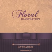 Floral elegant card design