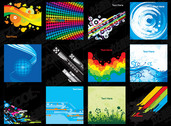 Vector Of The Exquisite Background Material-2