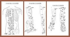 Body Points Acupuncture Meridians To Figure