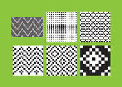 Simple B&W Patterns 3