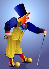 Clown Illustrator 01