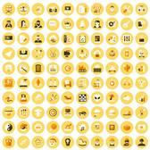 120 FLAT VECTOR ICONS.eps