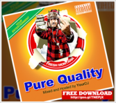 Pure Quality Mixtape Cover Free Download PSD