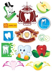 protect teeth cartoon icon