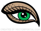 Free Eye Vector Art