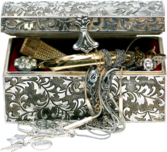 Gold & Silver Chest PSD