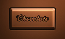 Psd Chocolate Text Effect