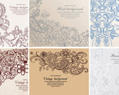 Free Vector Stock Flow Ornament
