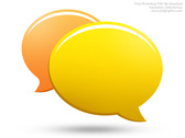 PSD chat icon