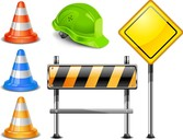 Roadblock Signs