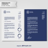 Curriculum vitae and cover letter template