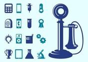 Technology And Science Icons