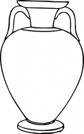 Outline Greek Amphora