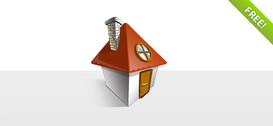 Free Layered House Icon