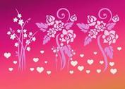 Love Flowers Vectors
