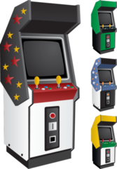 VECTOR Arcade game PSD