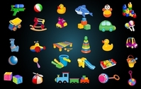 Cute Baby Toys Icon Pack