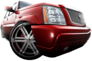 another escalade wit rims PSD