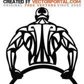 BODYBUILDER VECTOR ART.eps