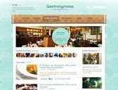 Gastronymous Free PSD Template