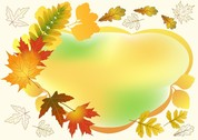 Beautiful Autumn Photo Frame