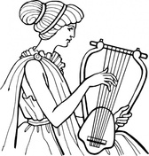 Lyre Musical Instrument