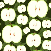 5Green fruits and vegetables background vector05