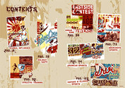 Sports And Cultural Elements Of Street Trend Of Vector Graphic-1