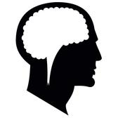 VECTOR SILHOUETTE OF A HEAD.eps