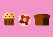 Sweet Food Vectors