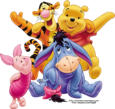 Winnie The Pooh and His Crew PSD