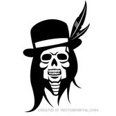 SKULL OF INDIAN CHIEF VECTOR.eps