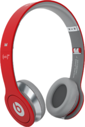 Red Solo Beats by Dre PSD