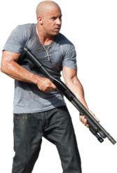 Vin Diesel Fast and Furious PSD
